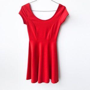 🔥 Charlotte Russe Red Skater Dress